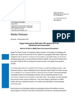 Sappi Fine Paper_Press Release_19 December 2013 - RISI Award