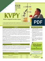 KVPY Leaflet (Green Theme)