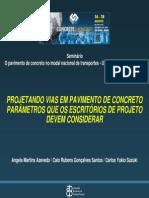 VO - Projetando Vias Pav Concreto Parametros Caio Angela Suzuki - ABCP