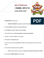 ACTUACIÓNS DE NADAL