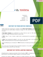 Ford vs Toyota