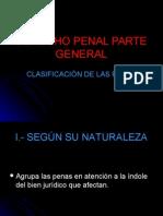 d1penal - Clasificacion de Las Penas