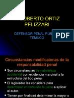 dºpenal - circunstancias modificatorias responsabilidad