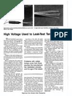 Pinhole Leak Detectioncvvcvb