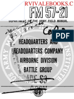 1959 US Army Vietnam War Headquarters and Headquarters Company Airborne Division 197p