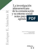 La investigación latinoamericana de la comunicación