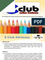 e-club powerpoint presentation 1