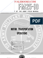 1959 US Army Vietnam War Motor Transportation Operations 122p
