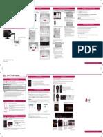 LG LA7400 Quick Guide