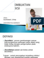 4.Cara Pembuatan Desinfeksi n Desinfeksi