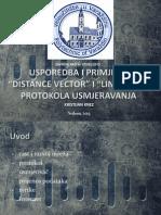 Usporedba Distance Vector-Link State