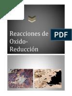Óxido - reducción