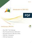 01 Intro to CRM 2011