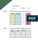 Excel for Blog