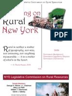 Focusing on Rural New York