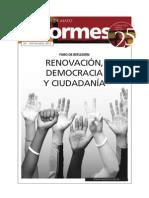 REGENERACIÓN DEMOCRÁTICA y ciudadania