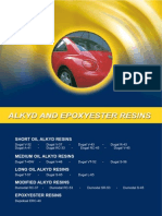 Alkyd and Epoxyester Resins