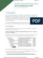 Desactiver Le Pare Feu Windows Par Gpo