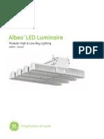 GE Industrail Luminaire Albeo Datasheet Tcm288-62791
