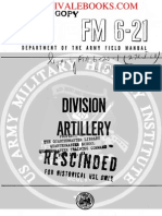 1960 US Army Vietnam War Division Artillery 239p