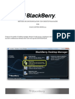 Sync BlackBerry Desktop Manager