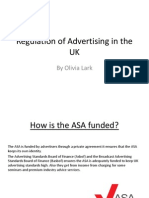 Regulation of Advertising in the UK