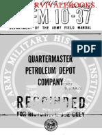 1960 US Army Vietnam War Quartermaster Petroleum Depot Company 145p