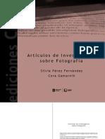 Gamarnik_Perez Fernandez - Articulos de Investigacion Sobre Fotografia