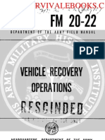 1960 Us Army Vietnam War Vehicle Recovery Operations 169p