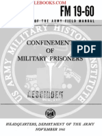 1961 US Army Vietnam War Confinement of Military Prisoners 120p