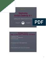 Deploying ArcGIS Desktop 91