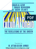 Futuh Al Ghalib ( Revelations of the unseen)