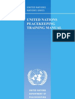 UN Peacekeeping Training Manual