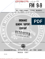 1961 US Army Vietnam War Ordnance General Support Company 80p