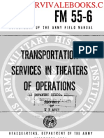1961 US Army Vietnam War Transportation Services in Theaters of Operations 90p
