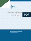 Säkularismus in Europa