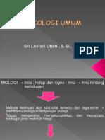 Presentasi Kuliah Biologi Umum-Metode Keilmuan