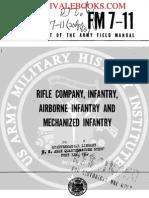 1962 US Army Vietnam War Rifle Company, Infantry, Airborne Infantry 269p