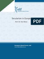 Secularism in Europe