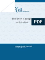 Secularism in Europe