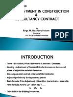 (02) Price AdjustmentsPrice adjustment