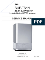harman/kardon SUB-TS11 SERVICE MANUAL