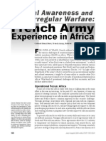 French Army Experience in Africa