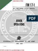 1963 US Army Vietnam War Armor Operations 376p