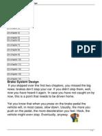 Chapter 3 Brake System Design