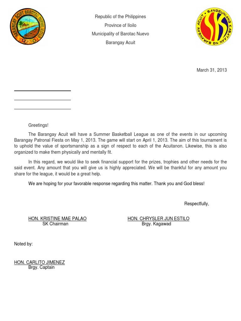 Of solicitation letter sample of solicitation letter expocarfo