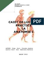 Anatomie caiet lucrari practice