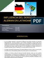 Derecho Aleman y Derecho Latinoamericano