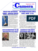 Off Camera - The Newsletter of the National Television Academy SF-N California Chapter - 0905