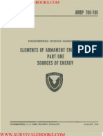 1964 US Army Vietnam War AMCP Sources of Energy 105p